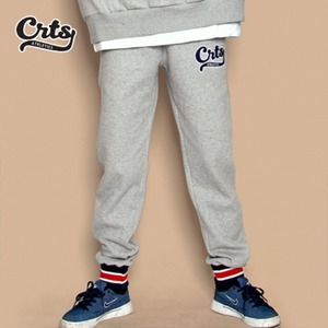 Stripe Banding Sweatpants (Gray)
